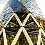 Swiss Re Tower In London Poster