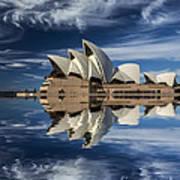 Sydney Opera House reflection Poster