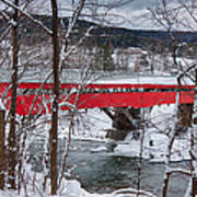 Taftsville Covered Bridge Poster