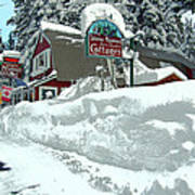 Tahoma Meadows Cottages Poster