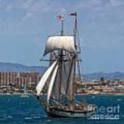 Tall Ship Alicante Poster