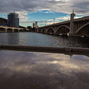 Tempe Lake Reflections Poster