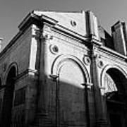 Tempio Malatestiano In Rimini Italy  Poster
