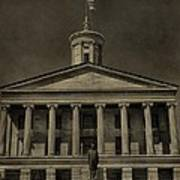 Tennessee Capitol Building Poster