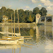 The Argenteuil Bridge Poster
