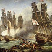 The Battle Of Trafalgar Poster