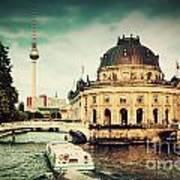 The Bode Museum Berlin Germany Poster