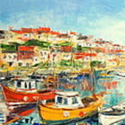 The Brixham Harbour Poster