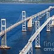 The Chesapeake Bay Bridge Poster