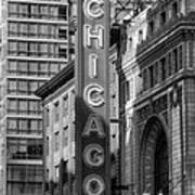 The Chicago Theatre Poster