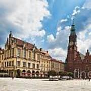 The City Hall Wroclaw Poland Poster