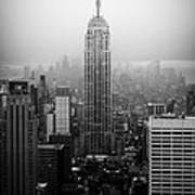 The Empire State Building In New York City Poster