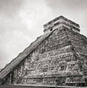 The Famous Kulkulcan Pyramid At Chichen Itza Poster