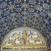 The Good Shepherd. 5th C. Italy Poster