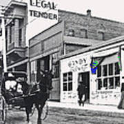 The Legal Tender Saloon 80 W. Congress Tucson Arizona C.1910-2013 Poster