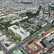The Museums Area And Hofburg Palace Poster