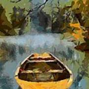 The Old Boat Poster