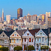 The Painted Ladies Of San Francisco Poster