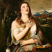 The Penitent Magdalene Poster