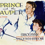 The Prince And The Pauper, Errol Flynn Poster
