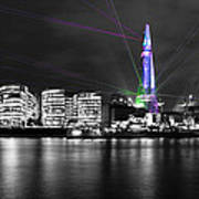 The Shard Lasers Poster