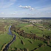 The Sèvre River, Tiffauges Poster