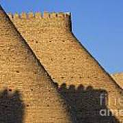 The Walls Of The Ark At Bukhara In Uzbekistan Poster
