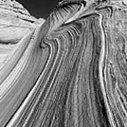 The Wave In The North Coyote Buttes Poster