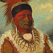 The White Cloud Head Chief of the Iowas Poster