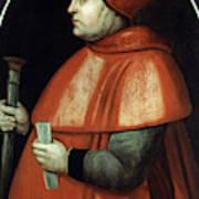 Thomas Wolsey (c1475-1530) Poster