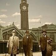 Three Stalwart Gentlemen Poster