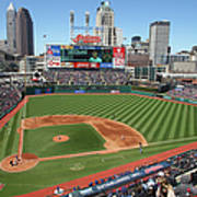 Toronto Blue Jays V. Cleveland Indians Poster