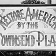 Townsend Plan, 1939 Poster