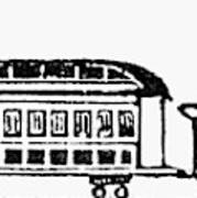 Train, 19th Century Poster