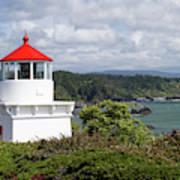 Trinidad Head Light House On The Coast Poster