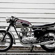 Triumph Trophy Tr6r 1961 Poster