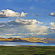 Tsomoriri Lake Leh India Poster