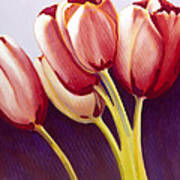 Tulips Are People Xiii Poster
