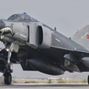 Turkish Air Force F-4 Phantom Landing Poster