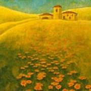 Tuscan Gold 2 Poster