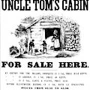 Uncle Tom's Cabin, C1860 Poster