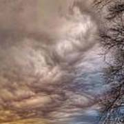 Undulatus Asperatus Clouds Poster