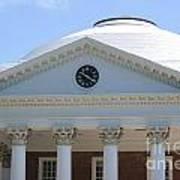 University Of Virginia Rotunda Poster