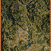 Upper Rogue River Poster by Pete Chadwell