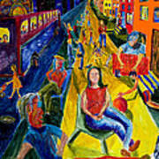 Urban Street People Poster
