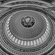 Us Capitol Rotunda Poster