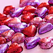 Valentine Hearts Poster