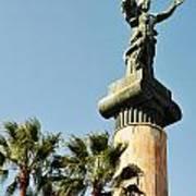 Victory Statue In Puerto Banus Poster