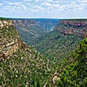 View From Sun Temple In Mesa Verde National Park-colorado  Poster