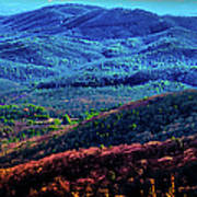 View From Table Rock Mountain Poster